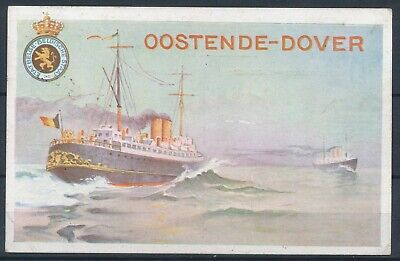 [1135] Ostende CPA - Oostende Dover