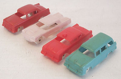 """F&F 4-pc Ford Variety Group #6 Cereal Premium Cars 3"""" USED (see photos) , used for sale  Honolulu"""