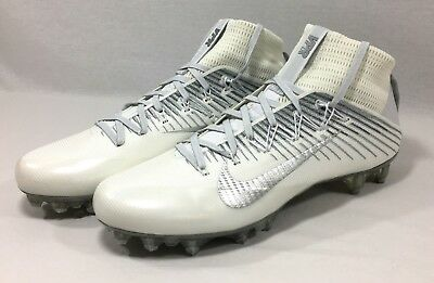 Nike Vapor Untouchable 2 Flyweave Football Cleats Mens Size 15 White 824470-100