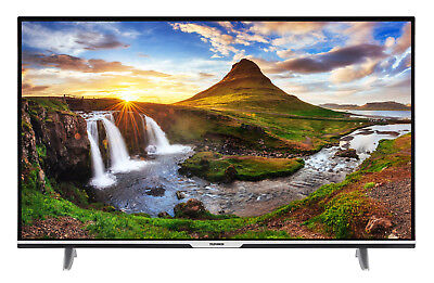 Telefunken XU55D401 4K Ultra HD Fernseher 55 Zoll TV Triple-Tuner Smart TV WLAN