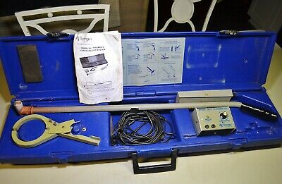 Textron Tempo Model 501 Tracker Ii Underground Cable Pipe Wire Locator Detector
