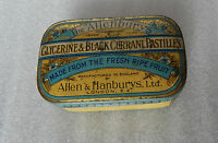 Vintage Allenbury's Glycerene And Blackcurrant Pastilles Tin - tins - ebay.co.uk