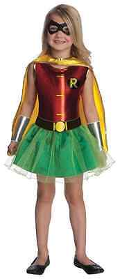 Robin Tutu Batman DC Comics Superhero Fancy Dress Up Halloween Child Costume - Batman And Robin Tutu Costumes