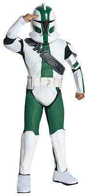 Commander Gree Star Wars Clone Trooper Fancy Dress Up Halloween Child Costume ()