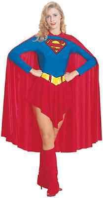 Supergirl DC Comics Superman Superhero Fancy Dress Up Halloween Adult Costume