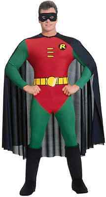 Boy Wonder Halloween-kostüm (Robin Batman Boy Wonder Superhero Super Hero Fancy Dress Halloween Adult Costume)