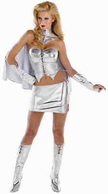 Emma Grace Frost White Queen Marvel X-Men Superhero Halloween Sexy Adult Costume
