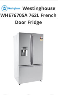 FRIDGE FREEZER Brand New Westinghouse 672l