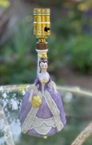Antique German Figurine Lamp