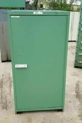 60 Tall Stanley Vidmar Single Door H.d. Storare Cabinet Wshelves 30 X30 X60