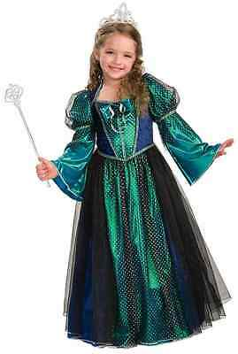 Twilight Princess Renaissance Maiden Gothic Fancy Dress Halloween Child Costume ()