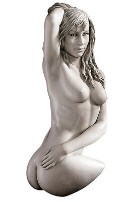 Athletic Nude Naked Female Girl Body Torso Statue Sculpture