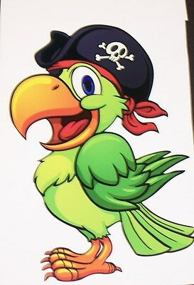 Pirate Parrot RV motorhome Wall Window Graphic Decal decals Graphics