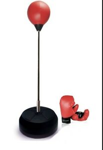 Boxing Set Punching Ball with Adjustable Height
