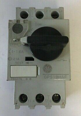 Ge Gps1bhaf Overload Starter 1-1.6a 690v 5060hz 3ph 34hp