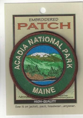 Acadia National Park Maine Souvenir Patch Maine 002