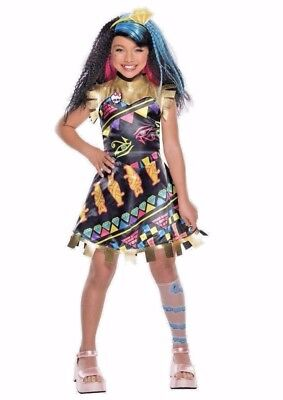 Monster High Cleo De Nile Costume Dress Girls - Monster High Dress Up Outfits