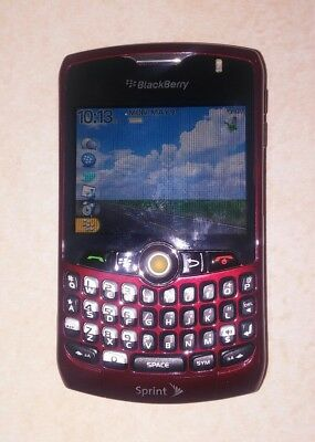 Blackberry Sprint cellphone