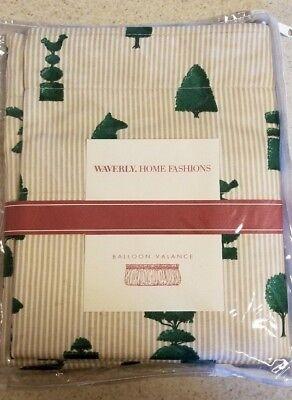 Waverly Home Fashions Balloon Valance Yew Too 79