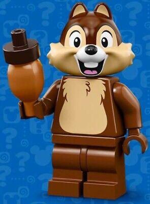 LEGO CHIP CHIPMUNK MINIFIGURE THE DISNEY MINIFIGURES SERIES 2 - 71024 # 7