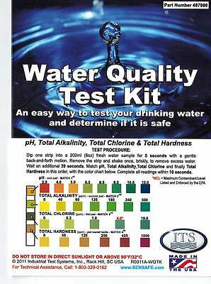 Water Test Kit, 15 Parameters Including Lead & Pesticides, Great for Well Water Great Test Leads
