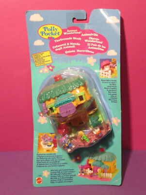 Polly Pocket Mini NEU ♥ Süßes Elefanten Haus ♥ Elephant House ♥ 1994 ♥  OVP NEW