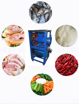 Intbuying 2.2kw Electric Meat Grinder Feed Processer Bone Crusher Kitchen 220v