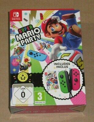 Super Mario Party + Neon Green/ Neon Pink Joy-Con Nintendo Switch Limited Pack, usado segunda mano  Embacar hacia Spain