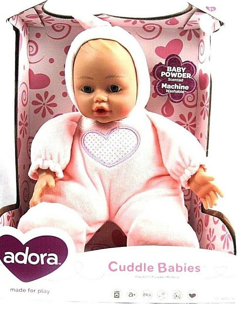 cuddle baby doll dreamy 13 girl weighted