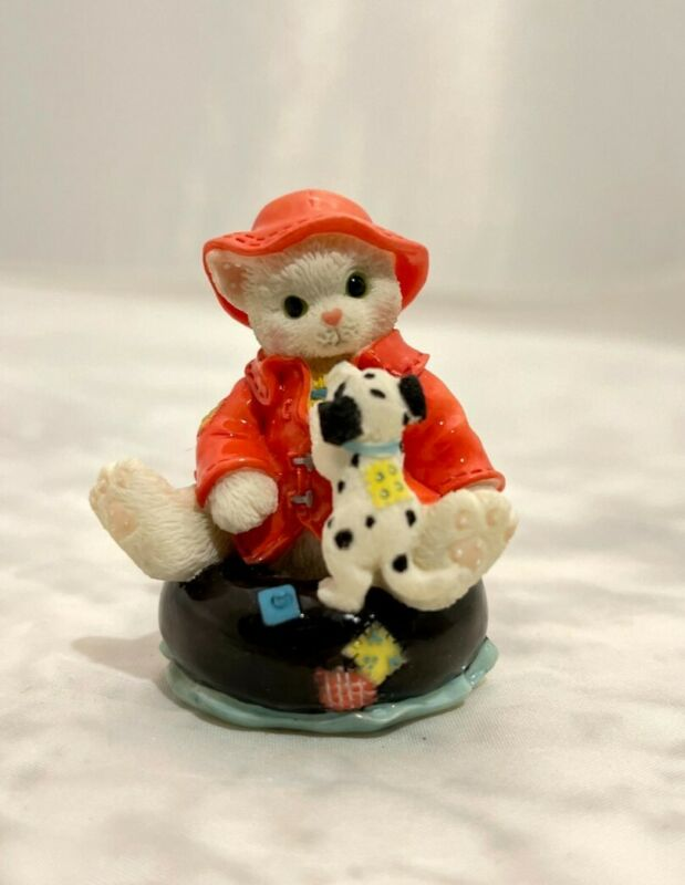 Calico Kittens Friendship Figurine, Friendship Stays Afloat, Item #296953K