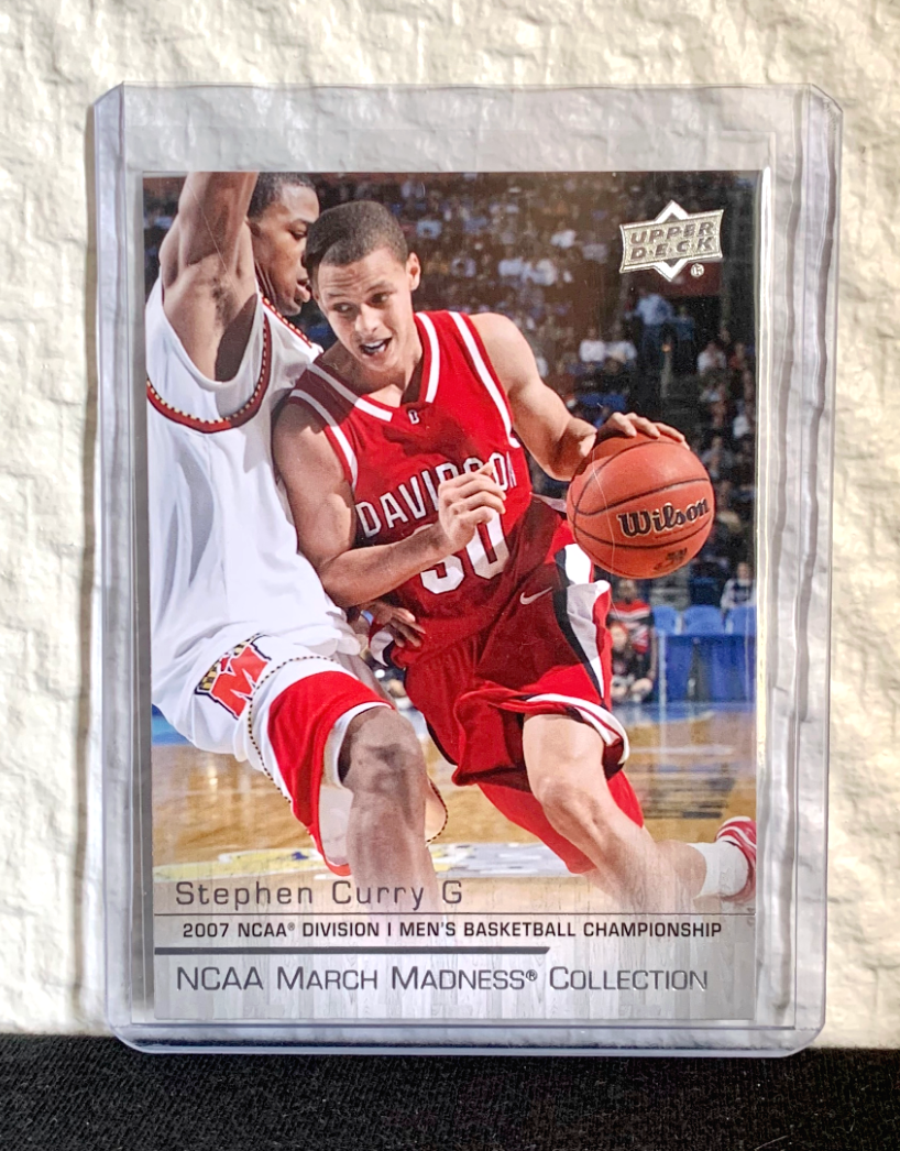 2014-15 upper deck march madness collection #sc1 stephen curry