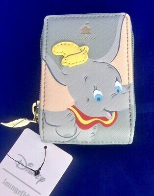 NWT! Loungefly Disney Dumbo Card Wallet - BoxLunch Exclusive - Timothy Q. Mouse