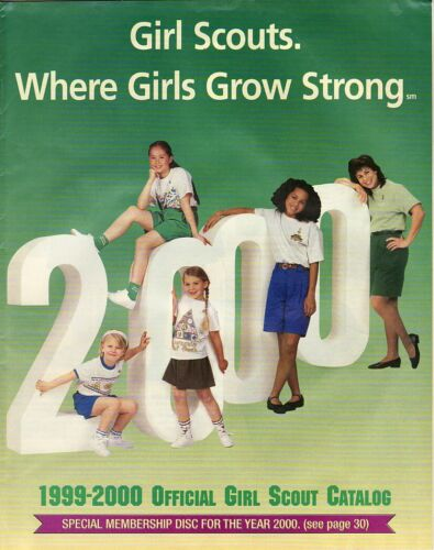 Girl Scout Catalog: NES 1999-2000 Official Girl Scout Catalog