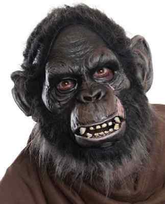 Planet Fancy Dress Costume (Koba Mask Planet Apes Monkey Fancy Dress Halloween Adult Costume)