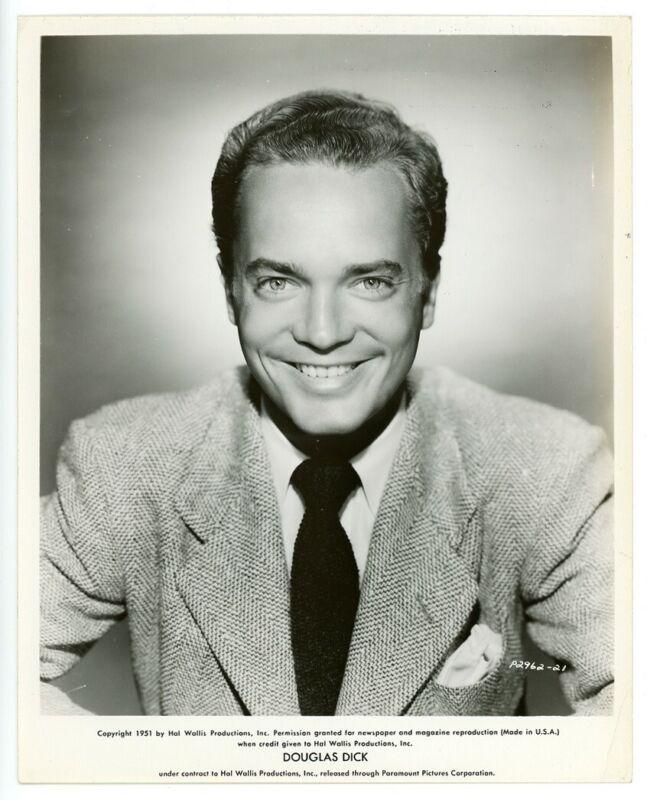 DOUGLAS DICK original movie photo 1951