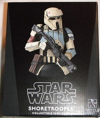 GENTLE GIANT STAR WARS ROGUE ONE SCARIF SHORETROOPER Collectible Mini Bust