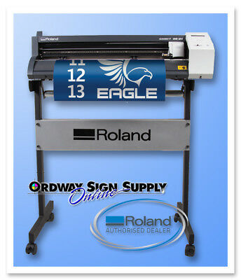 New 24 Roland Gs-24 Vinyl Cutting Plotter Camm-1 W Floor Stand 3 Yr Warranty