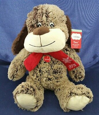 """Petsmart 2016 Pet Holiday Collection """"Chance the Dog"""" Plush for Pets Squeaks"""