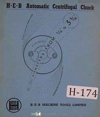 Heb Op320 Copying Tracer Lathe Kinematic Circuitoperating Instructions Manual