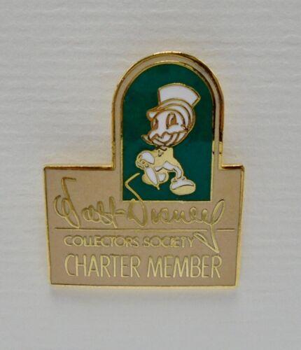 Disney WDCS Charter Member Jiminy Cricket Pin