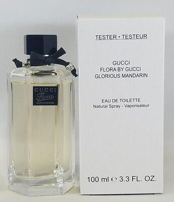 Gucci Flora Glorious Mandarin 3.3 Oz Eau De Toilette Spray New Tst As in Pic - Mandarin Mint Eau De Toilette