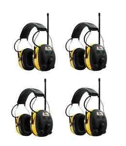 PELTOR-WORKTUNES-Digital-AM-FM-MP3-Radio-HEADPHONES-Hearing-PROTECTION-Ear-Muffs