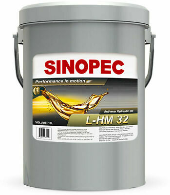 5 Gal Anti Wear Hydraulic Oil Aw 32 Pail Industrial Equipment Protection New