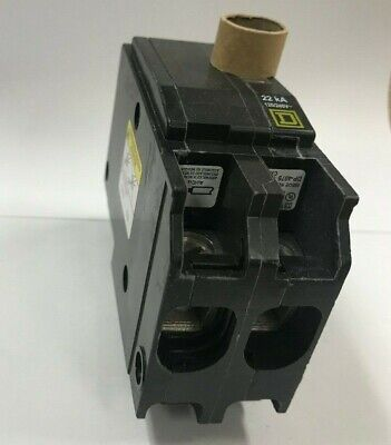 New In Box Square D Qo2100vh 100 Amp 2 Pole 120240v 22k Plug On Circuit Breaker