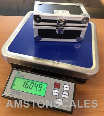 High Capacity Digital Balance Scale 30000 X 0.1 Gram Counting Bench Pharmacy New