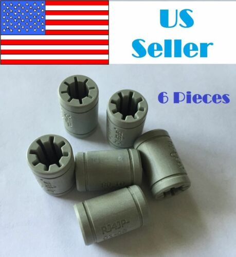 6x Igus Drylin Linear Bearing LM8UU 8mm 3D Printer Polymer bushing RJ4JP-01-08