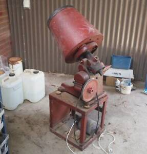 FREE- Vintage Rotary parts tumbler and supplies