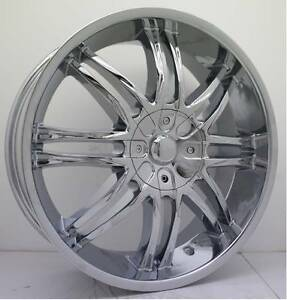 "18"" Chrome Devino Alloys For Most Front Wheel Drive Cars Toowoomba Toowoomba City Preview"