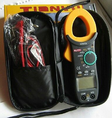Pocket Ty3266ta Digital Clamp Meter Acdc Voltage Ac Current Resistance Diode