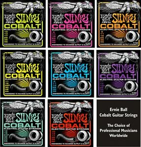 Ernie-Ball-Cobalt-Slinky-Guitar-strings-Choice-of-8-Gauges-Super-Power-etc